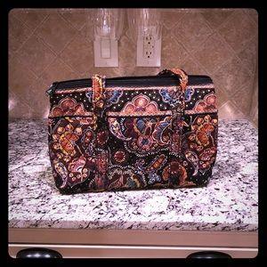 Brown paisley Vera Bradley purse